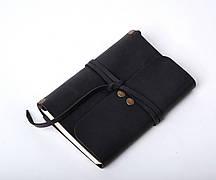 Кожаный блокнот Nota6 Черный