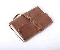 Кожаный блокнот Nota6 Оливковый