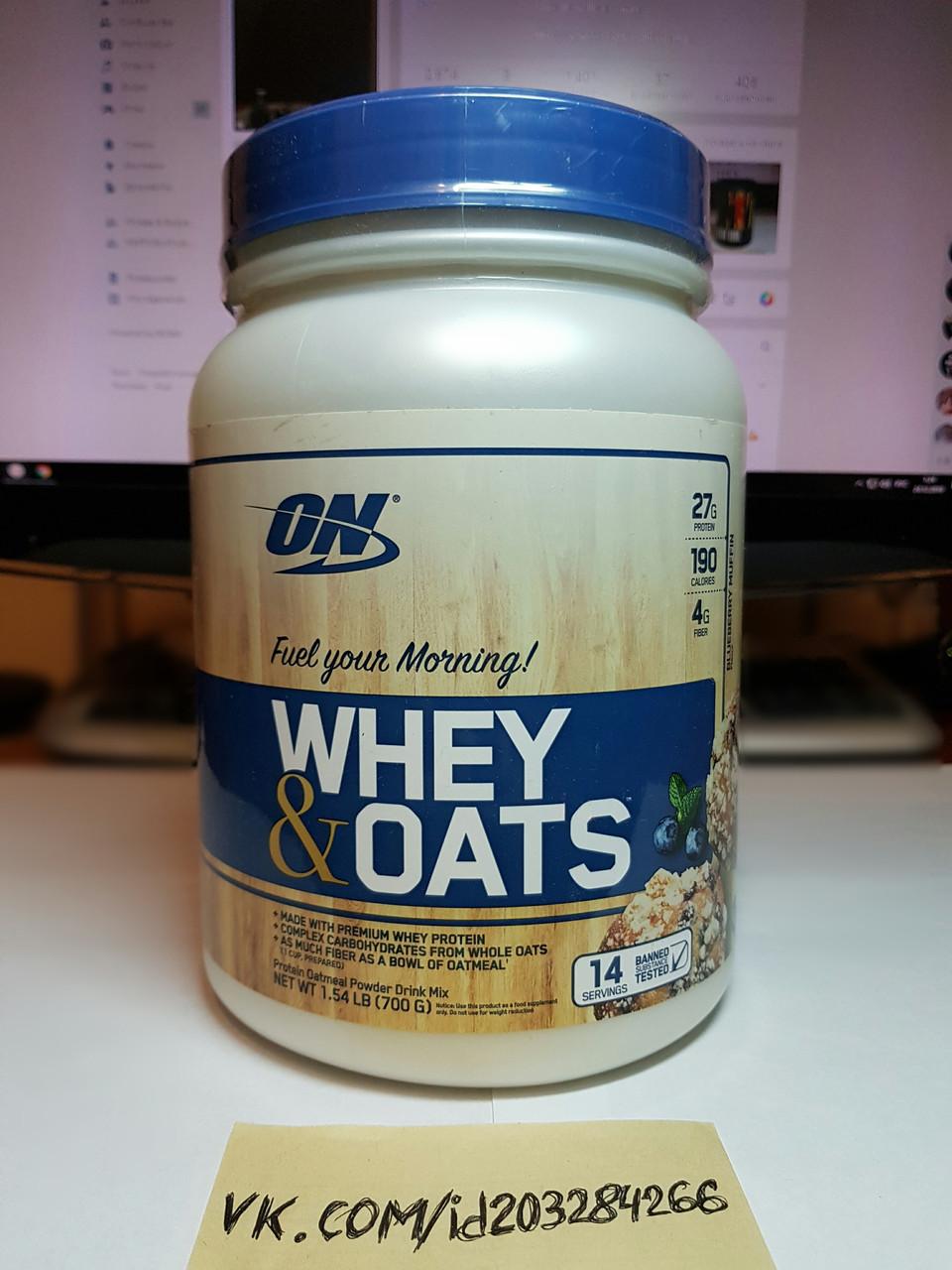 Протеин Optimum Nutrition Whey & Oats 700г