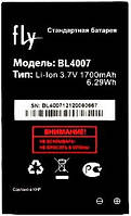 Аккумулятор для Fly DS123 оригинальный, батарея BL4007