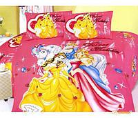 Детское постельное белье La Scala KI-040 'Принцессы' полуторный (175068)