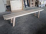 Деревянная складная скамейка (массив Бука), фото 3