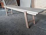 Деревянная складная скамейка (массив Бука), фото 4