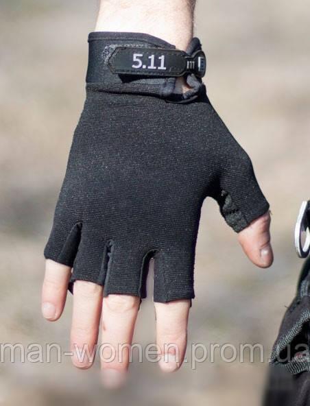 Перчатки тактические 5.11 полупалые.