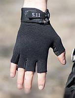 Перчатки тактические 5.11 полупалые., фото 1