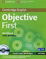 Objective First Workbook With Answers (+CD)