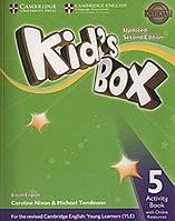 Книга Kid's Box Level 5 Activity Book with Online Resources British English