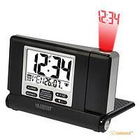 Проекционные часы La Crosse WT525-Black/Silver (923252) (189336)