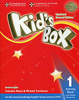 Kid's Box Level 1 Activity Book with Online Resources British English