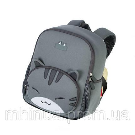 Школьный рюкзак Nohoo Котик (NHB041XL Grey), фото 2