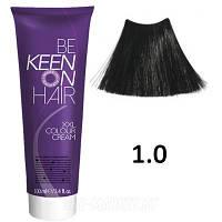 Крем краска Schwarz - 1.0 Черный Keen Color Cream XXL 100 мл.