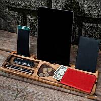 Деревянный аксессуар 'Настольный органайзер' (197318)