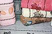 Метровые турецкие полотенца Кленовые листики, фото 4