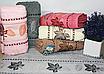 Метровые турецкие полотенца Кленовые листики, фото 2