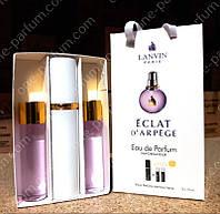 Мини парфюмерия Lanvin Eclat D`Arpege (Ланвин Эклат Д`Арпеж) с феромонами + 2 запаски, 3x15 мл, фото 1