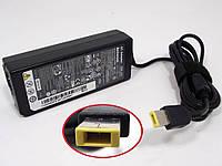 Блок питания для ноутбука Lenovo 20V 4.5A 90W (USB+pin)(ADLX90NLC3A) ORIGINAL Прямоугольный желтый разъем.