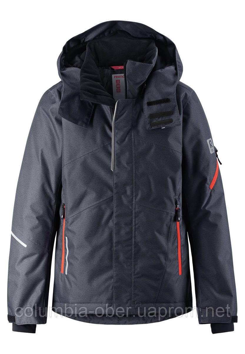 Зимняя горнолыжная куртка для мальчика Reimatec Laks 531419-9789. Размеры 104 - 164.