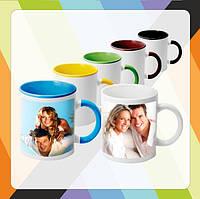 Печать на чашках (Ваших макетов)