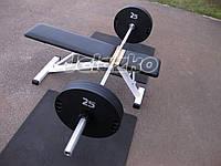 Гриф штанги олимпийский 2.2 м, хром, нагр до 200 кг, вес 15 кг, диаметр 50 мм, для олимпийских дисков, фото 1