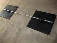 Гриф штанги олімпійський 2.2 м, хром, нагр до 200 кг, вага 15 кг, діаметр 50 мм, для олімпійських дисків, фото 1