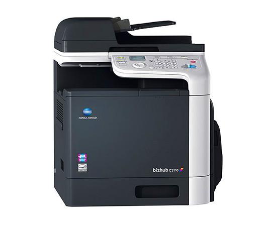 Konica Minolta bizhub C3110 – полноцветное МФУ, А4, сетевой принтер, сканер, копир, дуплекс, 31 стр./мин., фото 1