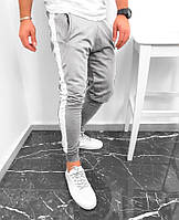 Мужские спортивные штаны серого цвета (люкс копия)