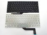 Клавиатура для ноутбука Apple A1398 Macbook Pro MC975, MC976(2012) (RU BLACK, Вертикальный Enter). ORIGINAL
