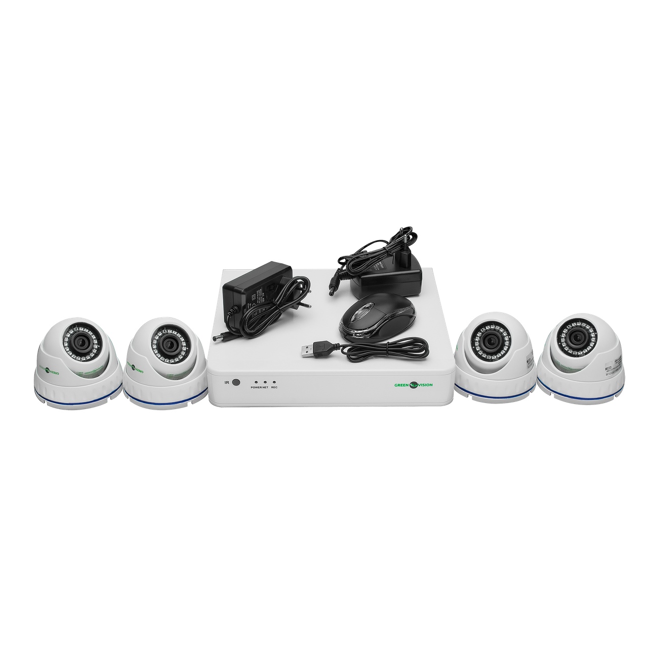 Комплект видеонаблюдения Green VisionGV-K-S16/04 1080P