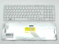 Клавиатура для Fujitsu Lifebook A530, A531, AH512, AH530, AH531, NH751( RU White ). Оригинальная