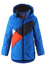 Зимняя куртка пуховик для мальчика Reima Ahmo 531423-6500. Размеры 110 - 158.