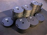 Диски для штанги стальные, на грифы 50 мм, 25 мм, 28 мм, 30 мм, 55 мм, порошковая покраска, фото 1