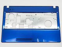 Корпус для Lenovo G580, G585 (Версия 2) Blue Metalic. (Крышка клавиатуры). Оригинальная новая