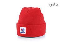 Шапка Reebok красного цвета  (люкс копия)