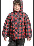 Зимний детский комплект для мальчика Salve by Gusti SWB 4861 TRUE RED. Размеры 92  - 128., фото 2