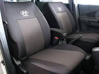 Чехлы на сидения Hyundai Sonata V (NF) раздельная с 2004-09 г.в.