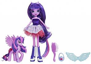 My Little Pony Equestria Girls Twilight Sparkle Doll and Pony Set