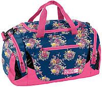 Женская спортивная сумка с цветами Paso 27L, 18-019UX