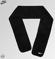 Теплый шарф Nike черного цвета (люкс копия)