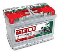 Автомобильный аккумулятор Mutlu AGM (L2): 70 Ач, плюс: справа, 12 В, 760 А - (AGM.L3.70.076.A), 278x175x190 мм