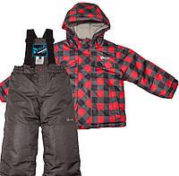 Зимний детский комплект для мальчика Salve by Gusti SWB 4861 TRUE RED. Размер 92 и 122.