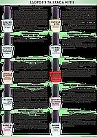 Лечение для ногтей  La Krishe Gelish effect основа-закрепитель Гранат 15 мл (Granatum extract)