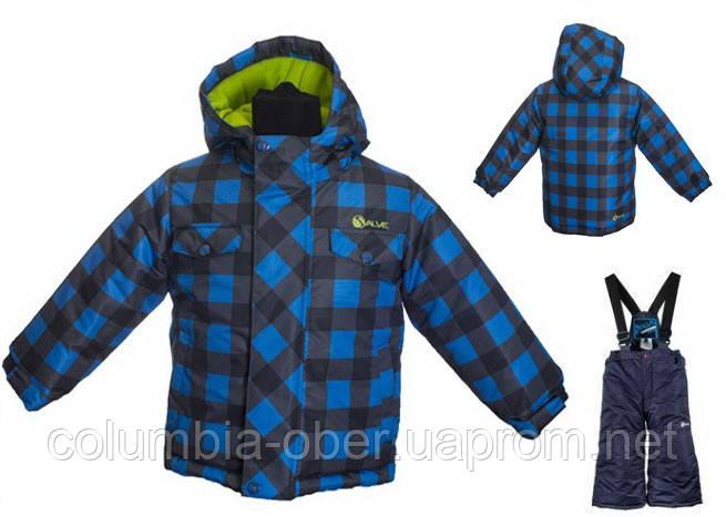 Зимние костюмы для мальчиков Salve by Gusti SWB 4861 MALIBU BLUE. Размеры 92 - 128.