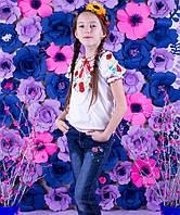 Блузка Вышиванка-15 интерлок