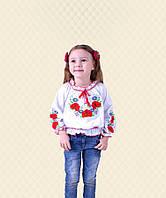 Блуза в национальном стиле Вышиванка-5 интерлок