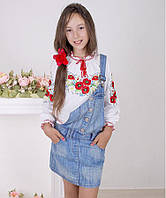 Блуза Вышиванка-19 интерлок