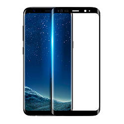 Гибкое защитное стекло Polymer Nano (full glue) (без упак.) для Samsung Galaxy S9+