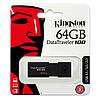 Флеш-память USB Kingston DataTraveler 100 DT100G3/64GB (64GB, USB 3.1), фото 2