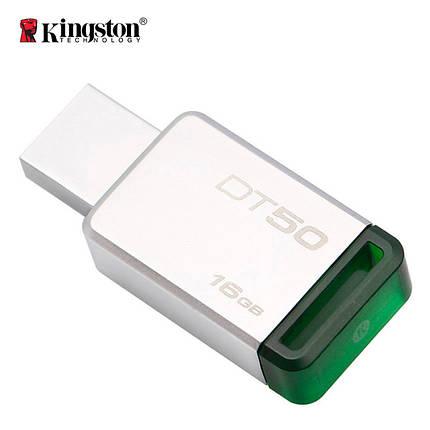 Флеш-память USB Kingston DataTraveler 50 DT50/16GB (16GB, USB 3.1), фото 2