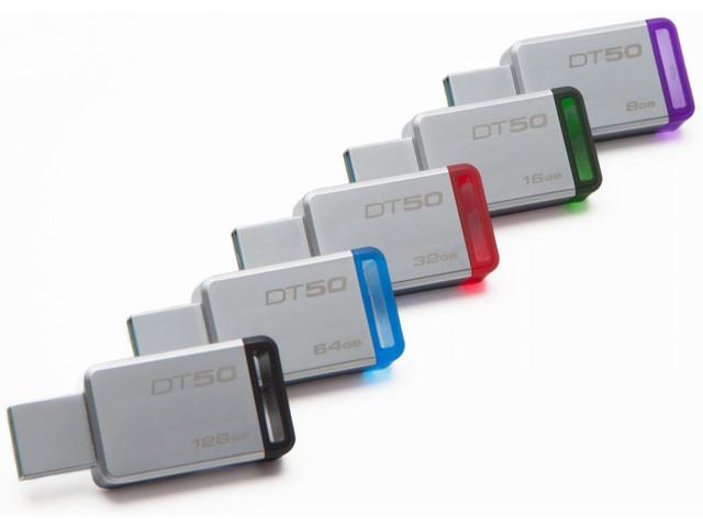Флеш-память USB Kingston DataTraveler 50 DT50/16GB (16GB, USB 3.1)