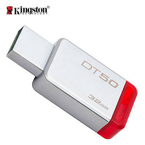 Флеш-память USB Kingston DataTraveler 50 DT50/32GB (32GB, USB 3.1)